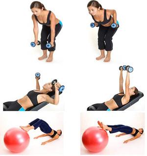Упражнения для похудания рук