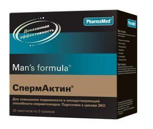 Спермактин помогает ли для эрекции